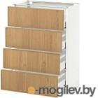 Шкаф-стол кухонный Ikea Метод/Максимера 292.355.31