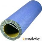 Туристический коврик Isolon Tourist 8 складной (180x60, синий/желтый)