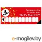 Автовизитка Mashinokom Ведьмочка AVP 003 - на присоске