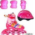 Роликовые коньки Tech Team Maya Set р.34-37 Pink
