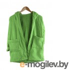 Бацькина баня Юниор с капюшоном 3-6 лет Light Green 14150
