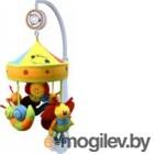 Каруселька с плюшевыми игрушками,Baby Mix, арт. ТК/754 (улитка)