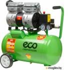 Компрессор ECO AE-25-OF1 (140 л/мин, 8 атм, поршневой, безмасляный, ресив. 24 л, 220 В, 0,8 кВт)
