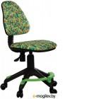 Кресло детское Бюрократ KD-4 (зеленый карандаши)
