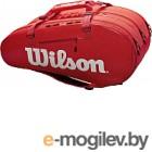 Сумка теннисная Wilson Super Tour 3 Comp RED / WRZ840815