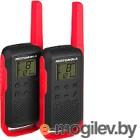 Комплект раций Motorola Talkabout T62 (красный)