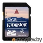 Kingston Secure Digital Card 32Gb SD4/32GB Class4
