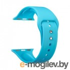Ремешок Lyambda Altair для Apple Watch 38-40 мм (S/M и M/L, голубой)