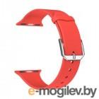 Lyambda Alcor Спортивный силиконовый ремешок для Apple Watch 42/44 mm DS-APS08C-44-RD Red