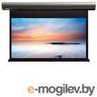 Экран с электроприводом Lumien Cinema Control 185x221 см (раб.область 120х213 см) (96) Matte White FiberGlass черн. кайма по периметру, доп.черная область 60 см, триггер., RS232, IR, RF управл. в комплекте, белый корпус 16:9 [LCC-100111]
