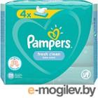 Влажные салфетки Pampers Fresh Clean (4x52шт)