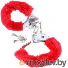 Наручники Pipedream Beginners Furry Cuffs / 15974 (красный)