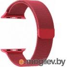Ремешок Lyambda Capella для Apple Watch 38-40 мм (красный)