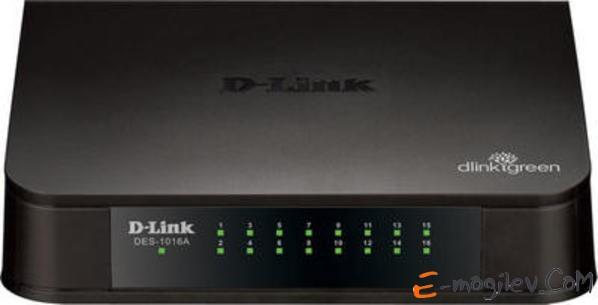 DLink [DES-1016A/E1A] 16-port 10/100 Mbps Switch