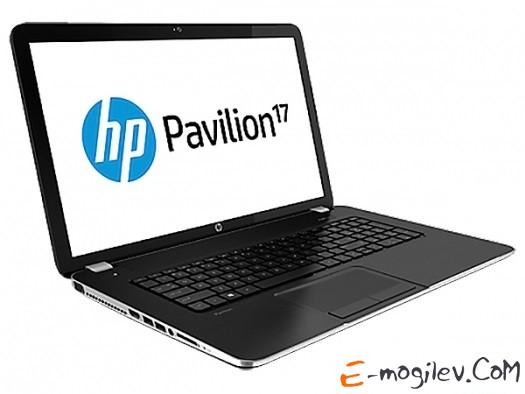 "HP Pavilion 17-e100sr F5B77EA AMD E1-2500M/4Gb/500Gb/DVD-SMulti/17.3"" HD+/WiFi/BT/Cam/6c/Dos/mineral black"