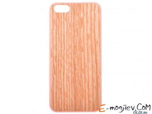 Пластиковый чехол Ozaki O!coat 0.3+ Wood для iPhones 5/5S. Бежевый OC545WO