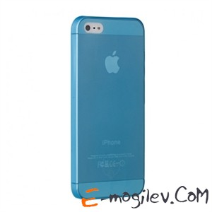 Ozaki  для iPhone 5 O!coat 0.3 JELLY Blue  OC533BU