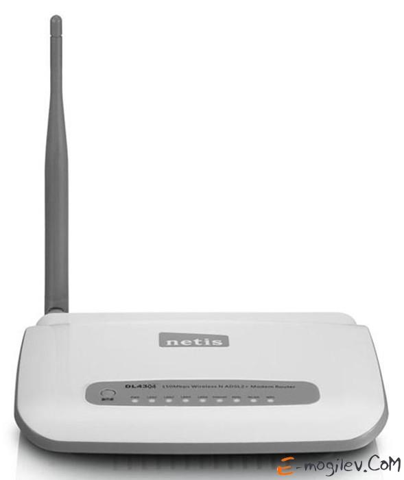 Netis DL-4304 802.11n/g/b, 150Mbps, 2.4GHz, внешняя антенна