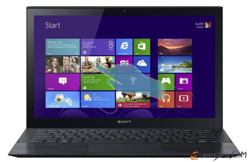 Sony SVP1321J1RBI.RU3 Core i3-4010U/4Gb/128Gb SSD/HD4400/13.3/1920x1080/Win 8 Single Language/black/BT4.0/WiFi/Cam