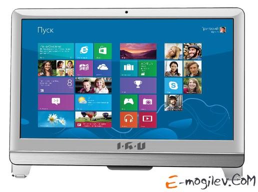 IRU 310 21.5 HD P G2020/4Gb/1Tb/IntHDG/DVDRW/MCR/DOS/WiFi/white/Web