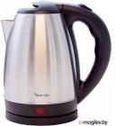 Чайник электрический Великие Реки Чая-1А 1500 Вт, 1,8 л, цвет черный, нержавеющая сталь