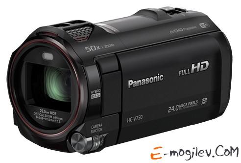 Panasonic HC-V750 black 1CMOS 20x IS opt 3 1080p SDHC Flash Flash