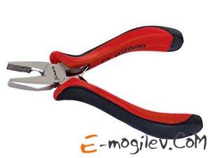 MATRIX Плоскогубцы Mini, 130 мм, никелированные, авторазжим, двухкомпонентные рукоятки