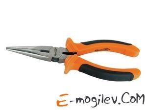 SPARTA Длинногубцы, Comfort, 160 мм, прямые шлифованные, двухкомпонентные рукоятки