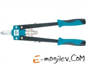 GROSS Заклепочник двуручный 420 мм для заклепок 2.4-3.2-4.0-4.8