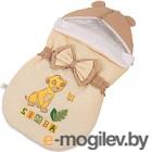 Конверт детский Polini Kids Disney baby Король Лев (бежевый)