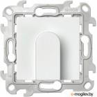 Вывод кабеля Simon 2410801-030 (белый)