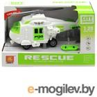 Вертолет игрушечный Big Motors Спасательный вертолёт / WY760B