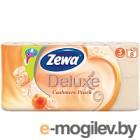 Туалетная бумага Zewa Deluxe Cashmere Peach (8рул)