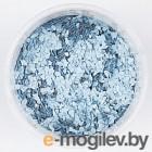 Флоковая добавка для жидких обоев Silk Plaster 6 (светло-голубой)