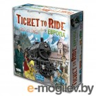 Настольная игра Мир Хобби Билет на поезд: Европа / Ticket to Ride: Европа 1032 (3-е русское издание)