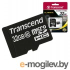 Карта памяти Transcend microSDHC Class 10 32 Gb + SD адаптер (TS32GUSDHC10)