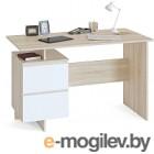 Письменный стол Сокол-Мебель СПМ-19 (дуб сонома/белый)