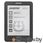 Электронная книга Digma R656 Cover 6 E-Ink Carta 800x600 600MHz/4Gb/microSDHC/frontlight темно-серый