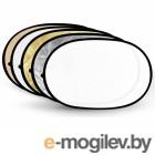 Fujimi 180x120cm FJ-702-180/120 5 in 1 Silver/Gold/Black/White/Diffuser