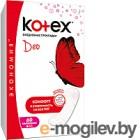 Прокладки ежедневные Kotex Super Slim Deo супертонкие (60шт)