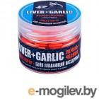 Sonik Baits Бойлы плавающие Liver-Garlic Fluo Pop-ups 14mm 90ml 638034