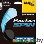 Струна для теннисной ракетки Yonex Polytour SPIN 125 SET / NT125PSS (12м, черный)