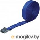 FIT РОС Ремень для крепления груза, пряжка с фиксатором, лента 25 мм x 2,5 м, 250 кг [64913]