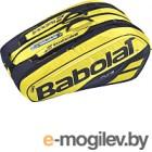 Сумка теннисная Babolat RH X12 Pure Aero / 751180-191 (черный/желтый)