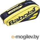 Сумка теннисная Babolat RH X6 Pure Aero / 751182-191 (желтый/черный)
