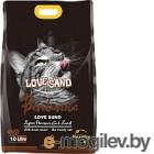 Наполнитель для туалета Love Sand Кофе / LS-010 (10л)