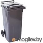 Контейнер для мусора Алеана 122064 (120л, темно-серый)