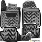 Комплект ковриков AVS для Kia Rio SK-62 / A78977S (4шт)