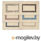 Коврик хлопковый Орнамент, 40х60 см, VORTEX (цвета в ассортименте) (ВОРТЕКС)