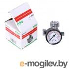 Регулятор давления  с манометром ECO AR-02-14 (резьбовое соединение 1/4)